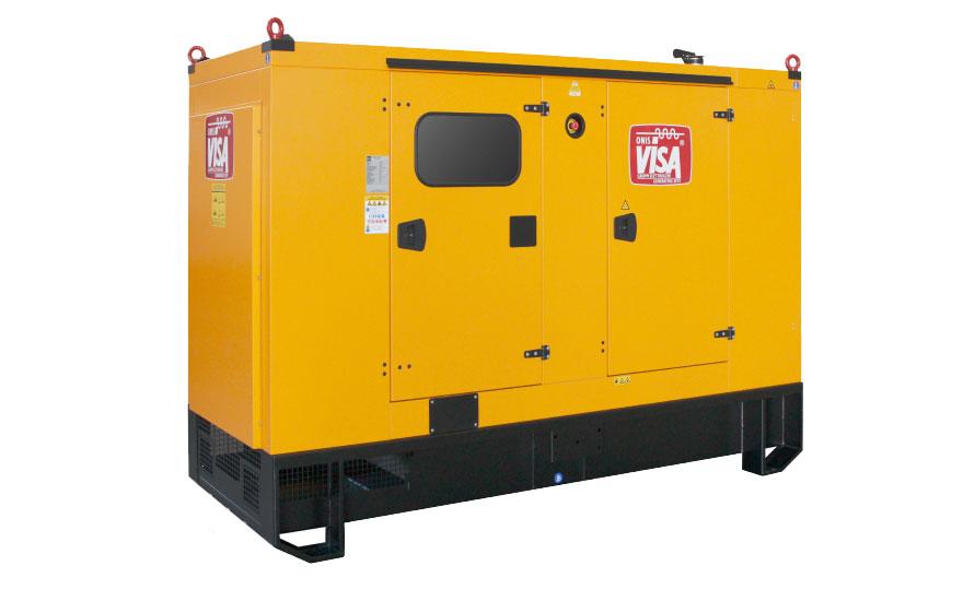Generator Visa cu carcasa, cu motor John Deere
